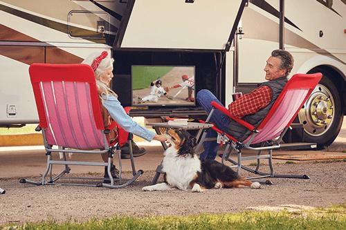 Watch DISH TV Outdoors in the RV- Goodland, KS - Sunflower Satellite Sales - DISH Authorized Retailer